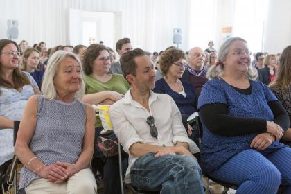 Beth Juncker, Kim Fupz Aakeson und Gro Dahle. (Foto Mario Habenbacher)