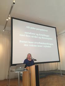 Gro Dahle on her work.